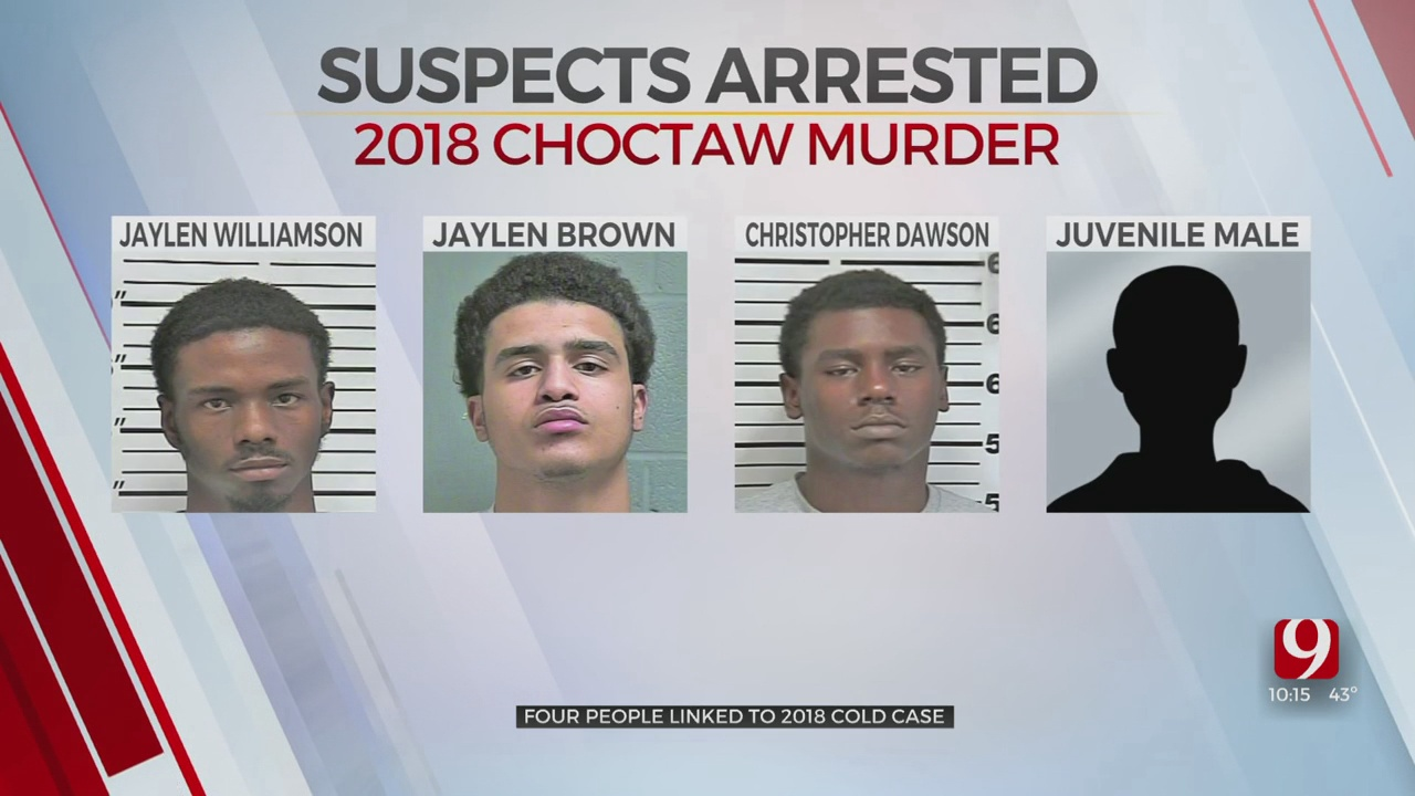 OSBI Arrests 4 Suspects In 2018 Homicide Cold Case Of Choctaw Father