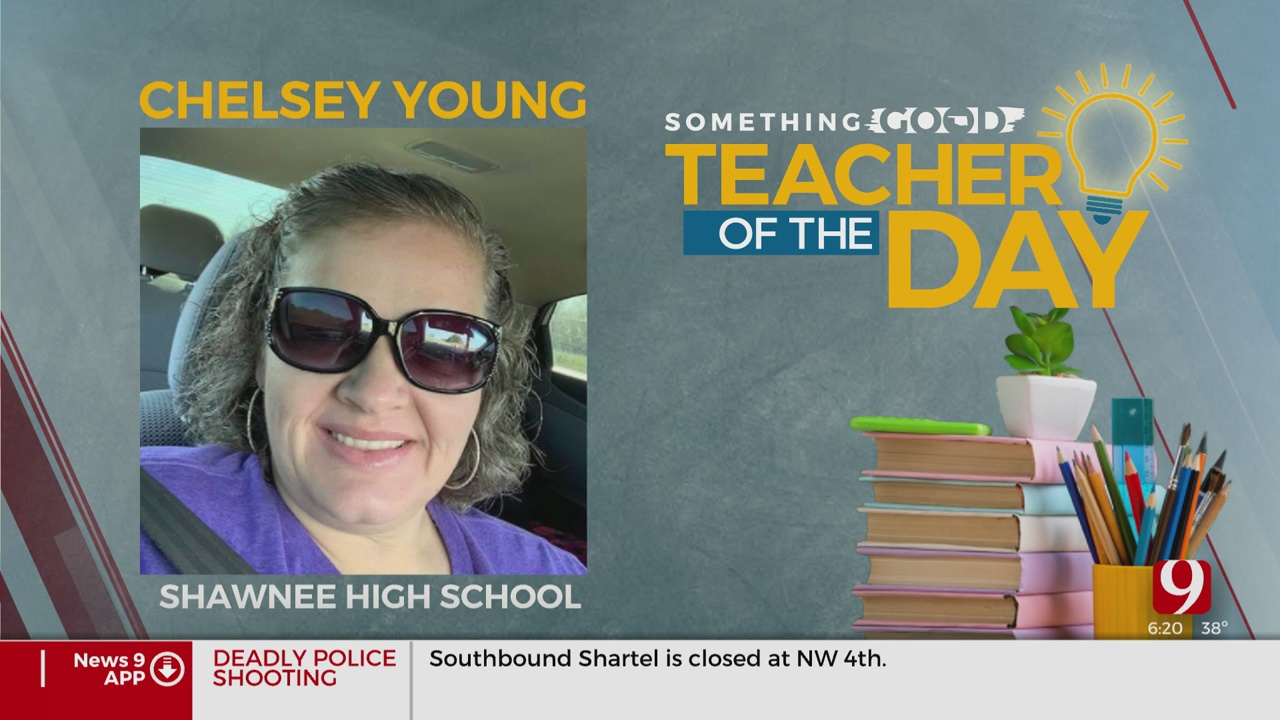 Teahcer Of The Day: Chelsey Young