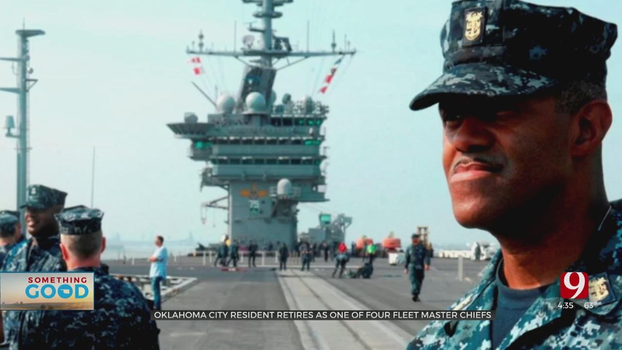 OKC Resident Retires As 1 Of 4 Fleet Master Chiefs