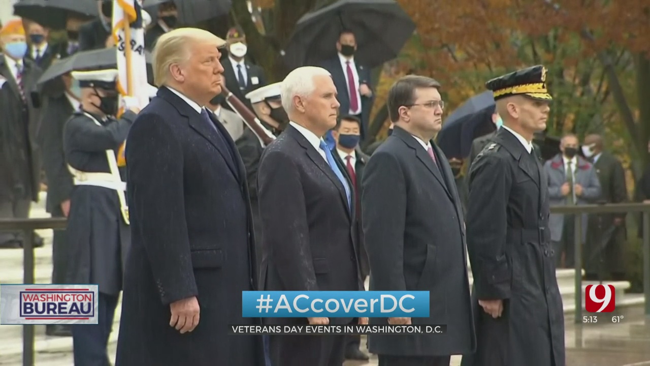 Americans Honoring Veterans At The Nation's Capital