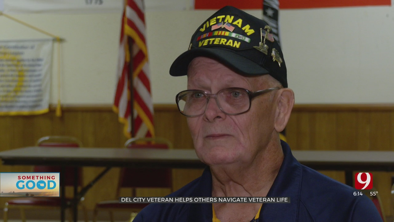 Del City Veteran Still Serving His Fellow Vets
