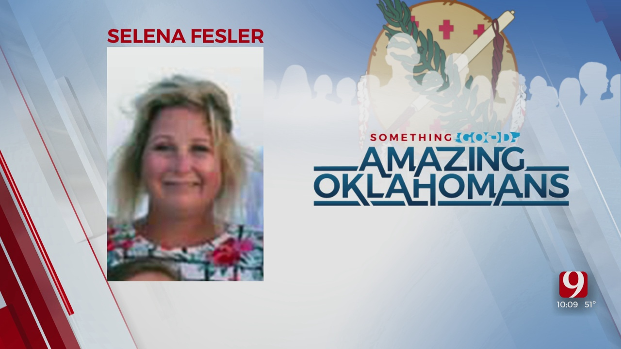 Amazing Oklahoman: Selena Fesler Helps To Save Family's Home