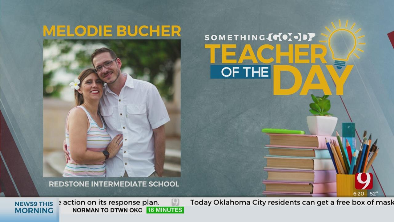 Teacher Of The Day: Melodie Bucher