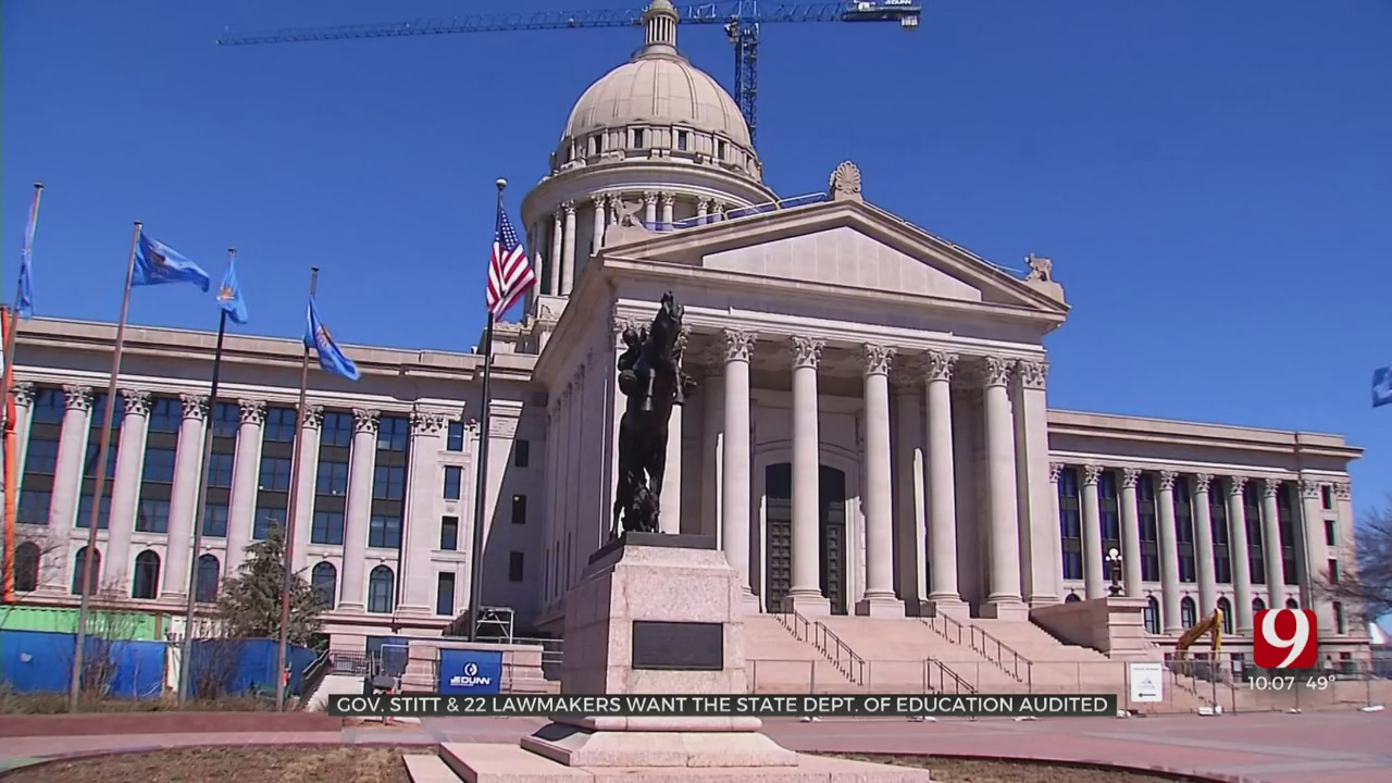 Lawmakers, Governor Call For Audit Of State Department Of Education