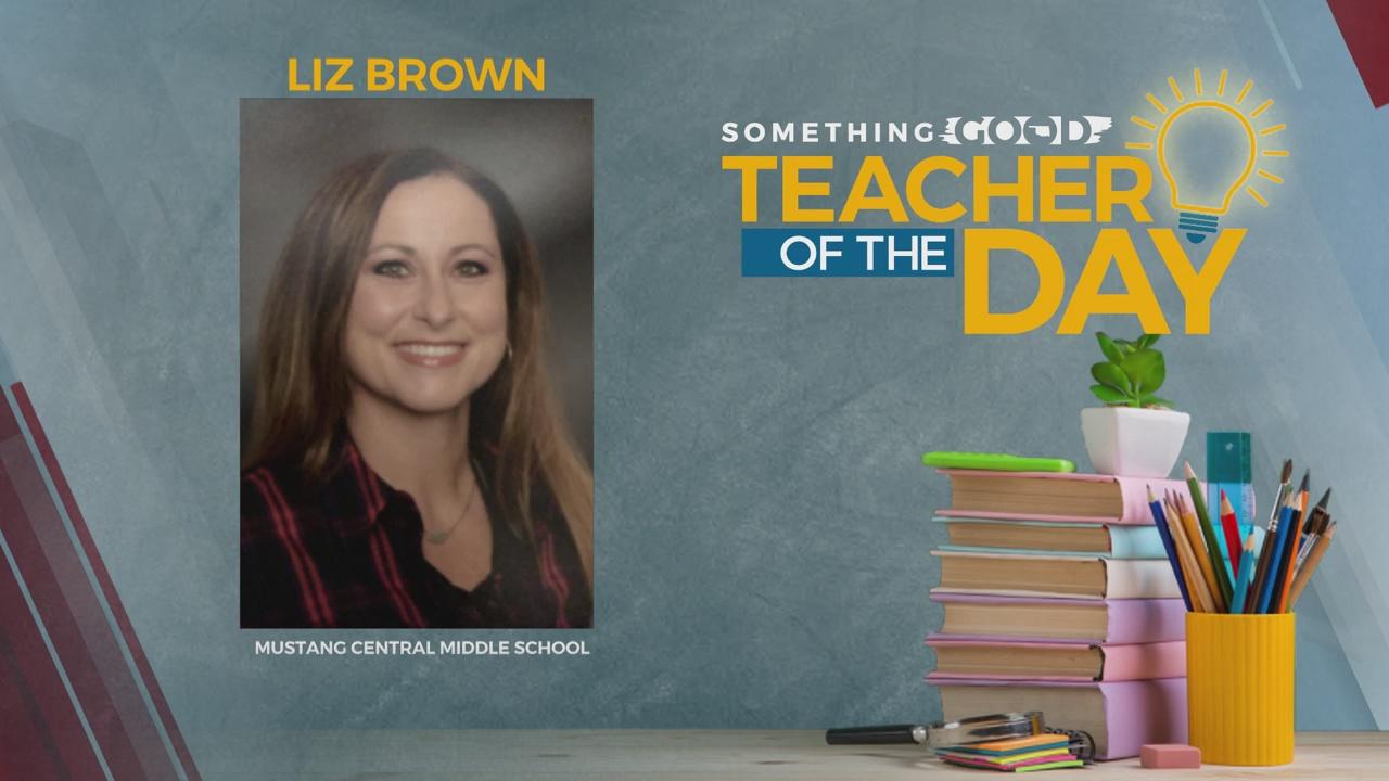 Teacher Of The Day: Liz Brown