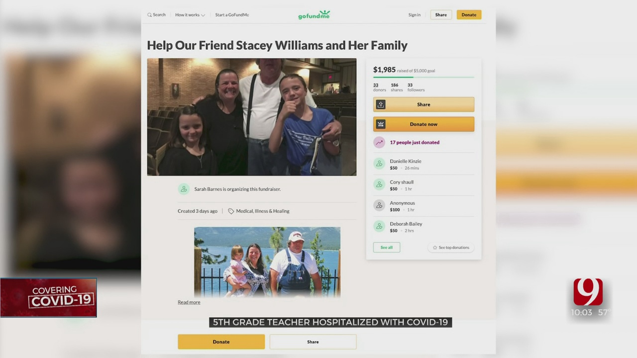Payne County Teacher Leaves ICU, Continues Recovery Following COVID-19
