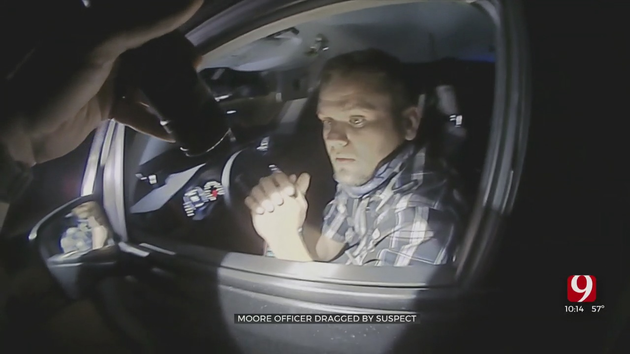 Moore Officer Recovering From Injuries After He Was Dragged By A Car