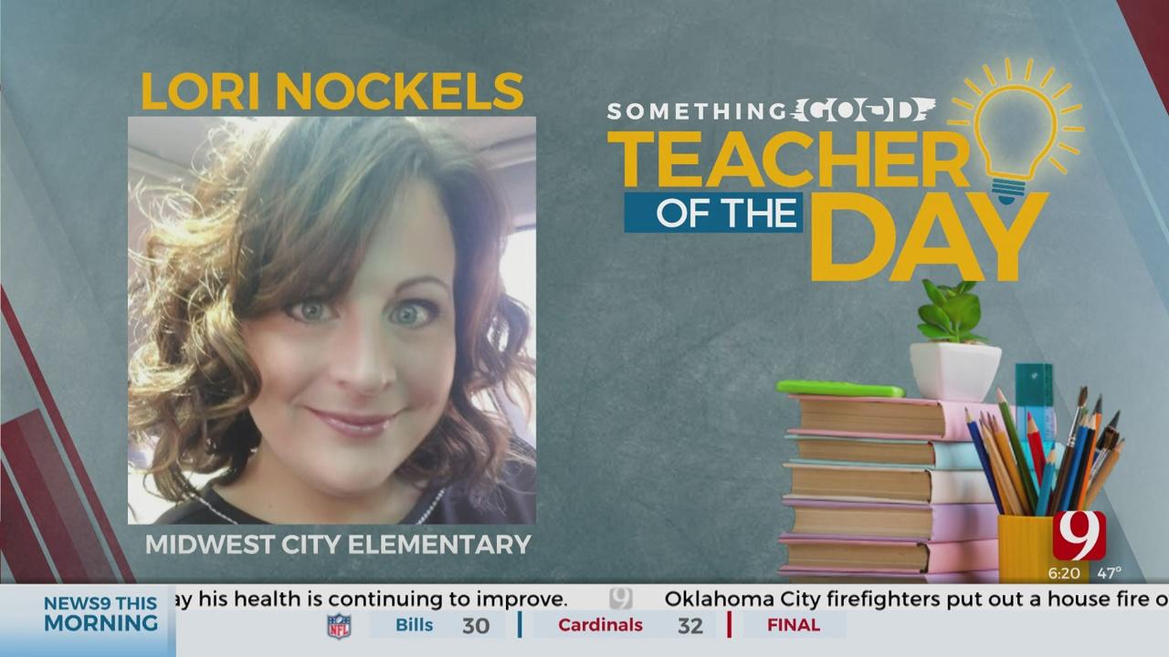 Teacher Of The Day: Lori Nockels