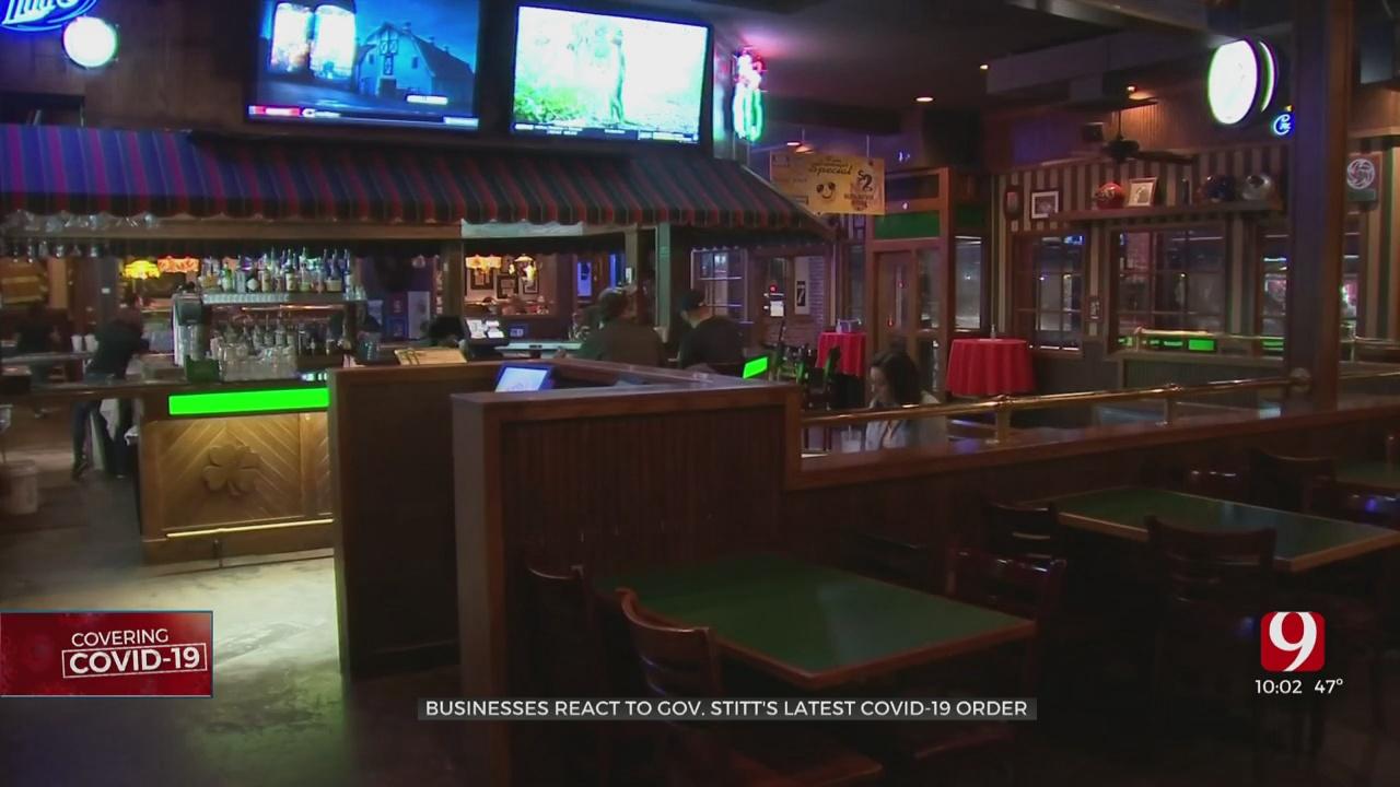 Okla. Bars, Restaurants Prepare For Gov. Stitt's New Restrictions