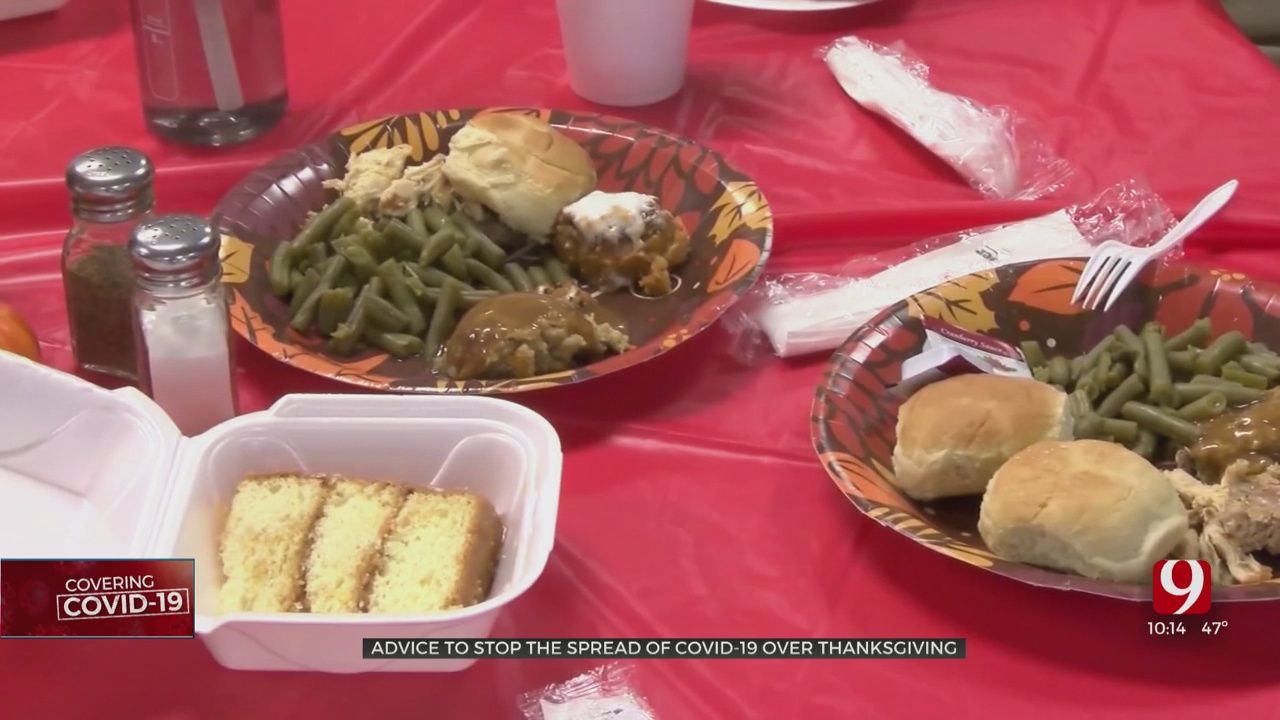 Health Officials Give Advice To Help Stop Spread Of COVID-19 Over Thanksgiving
