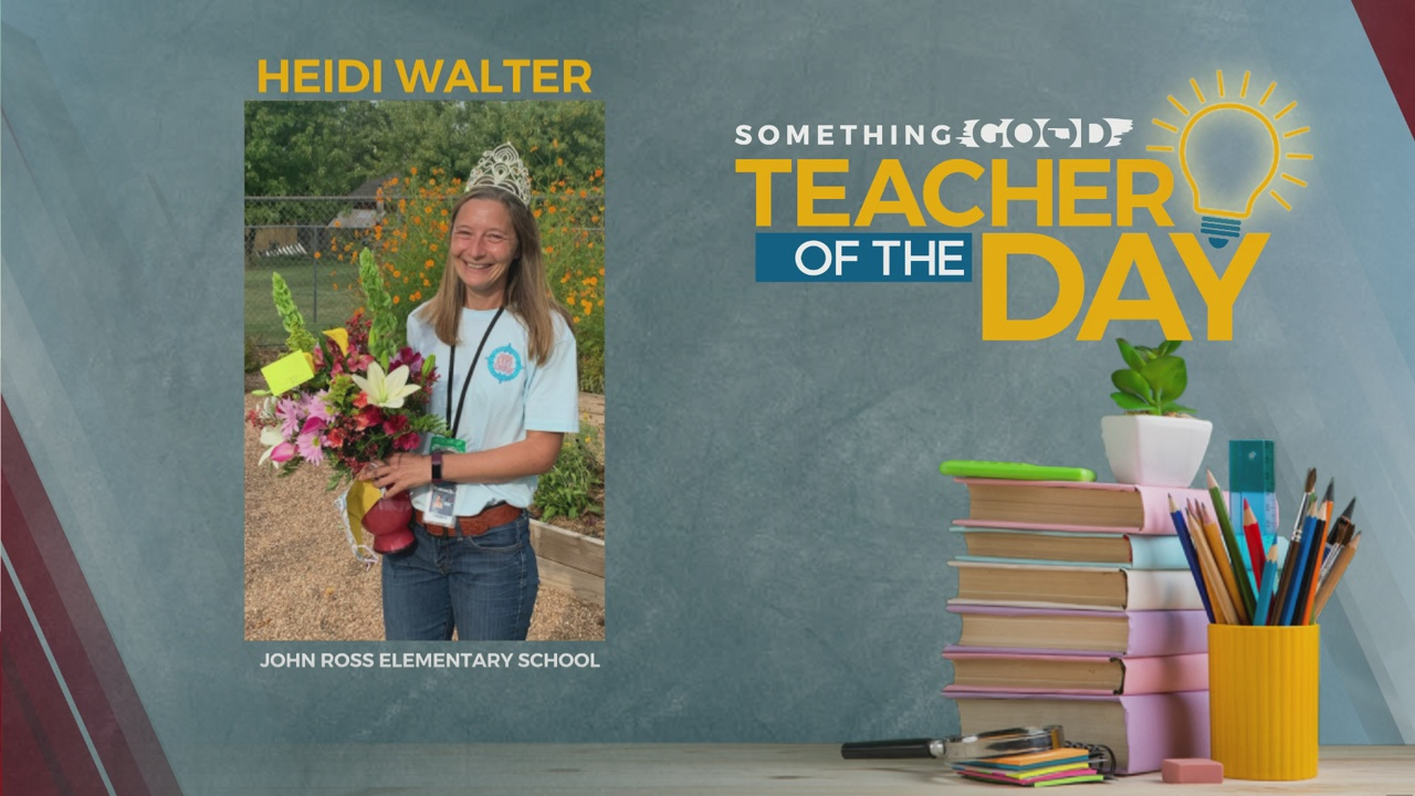 Teacher Of The Day: Heidi Walter