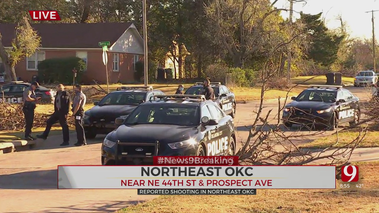 2 Shot In Possible Drive-By In NE OKC