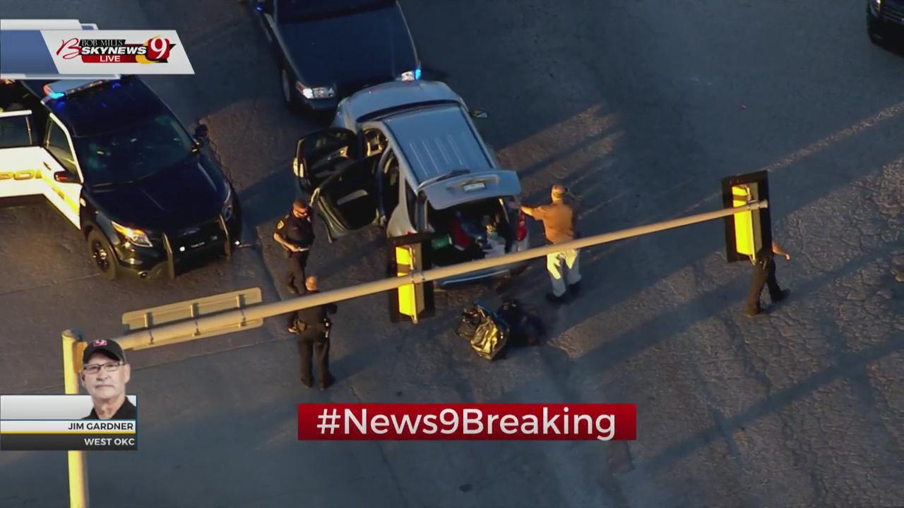 Pursuit Suspect Taken Into Custody After Crashing In OKC
