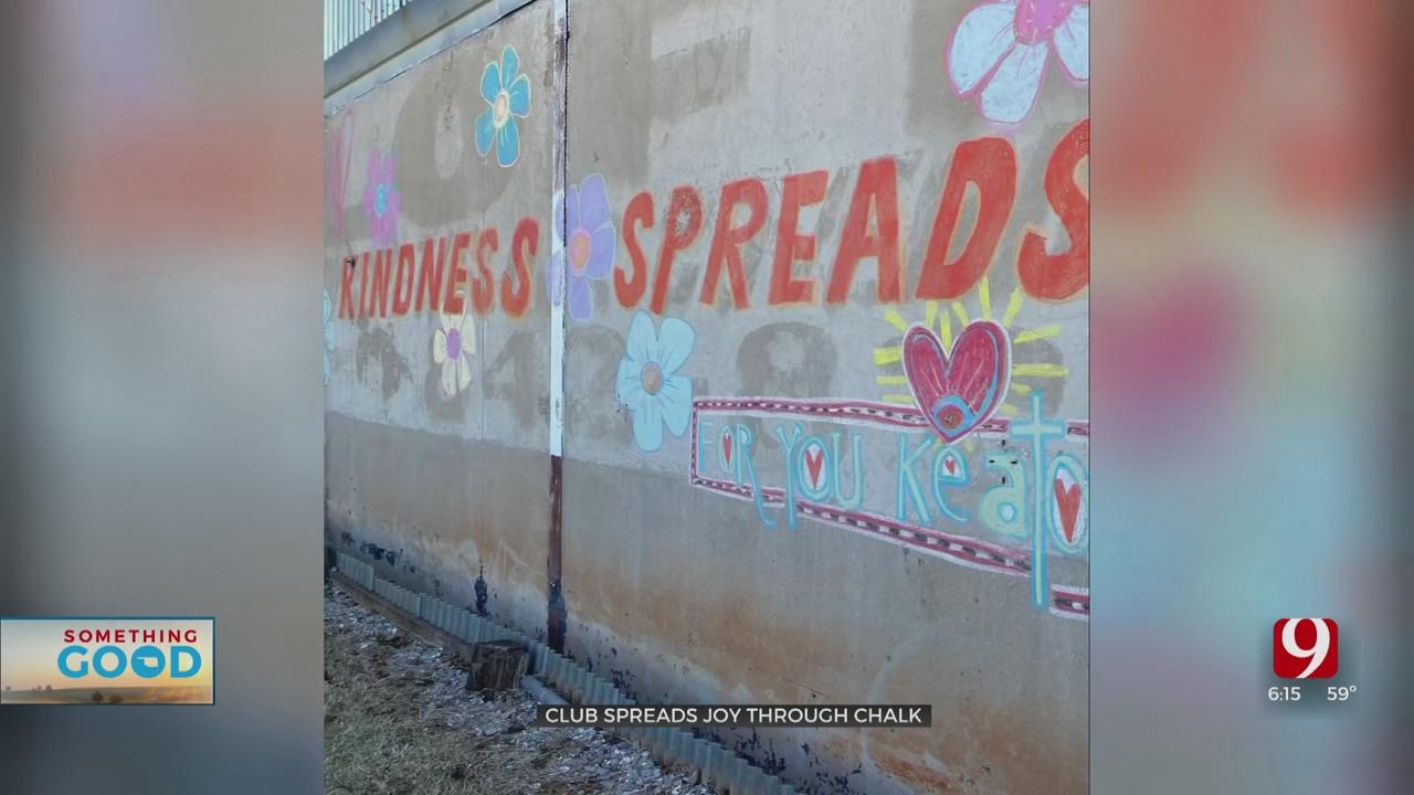 K-Club Spreads Joy Through Chalk To Celebrate World Kindness Day