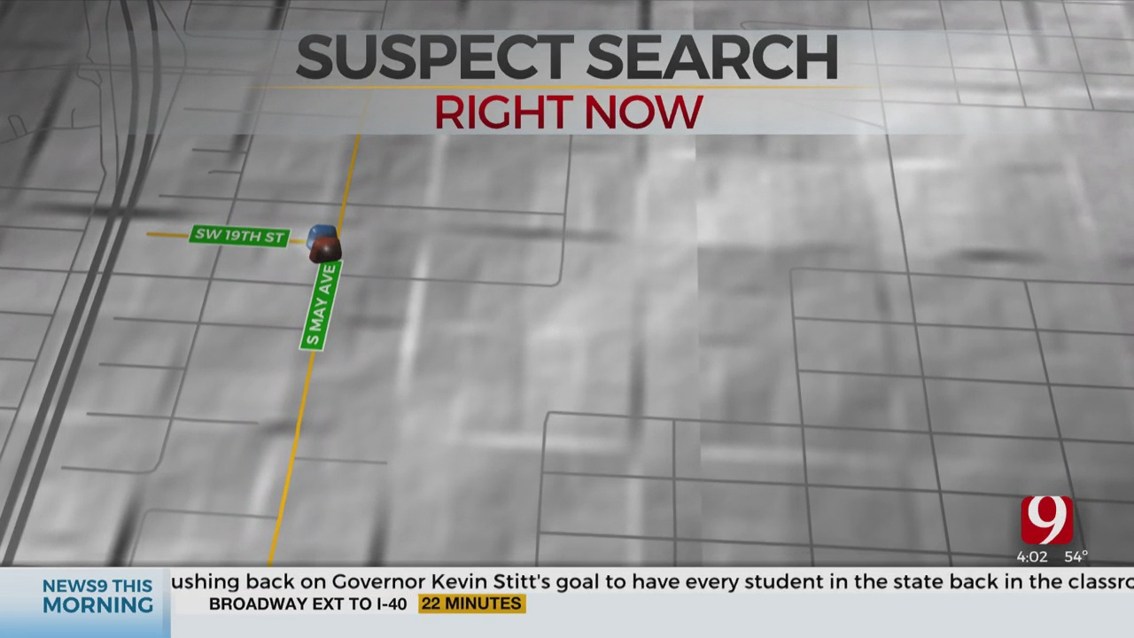 Police Search For Suspect In Overnight SW OKC Pursuit
