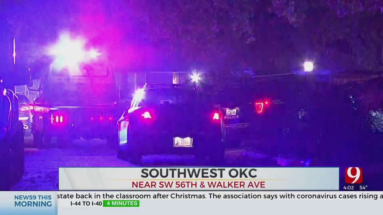 4 In Custody After Overnight SW OKC Pursuit