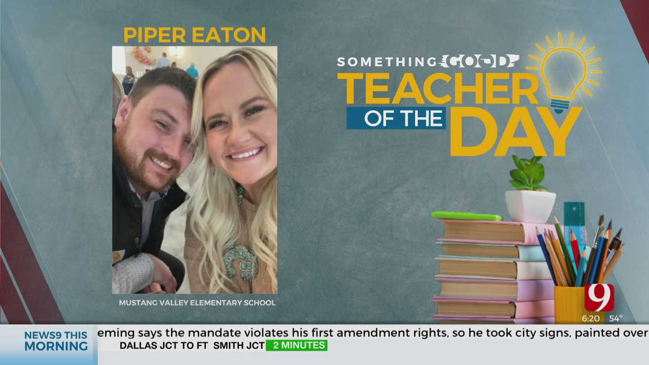 Teacher Of The Day: Piper Eaton