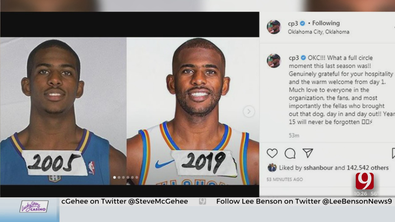 'Full Circle': Chris Paul Thanks OKC
