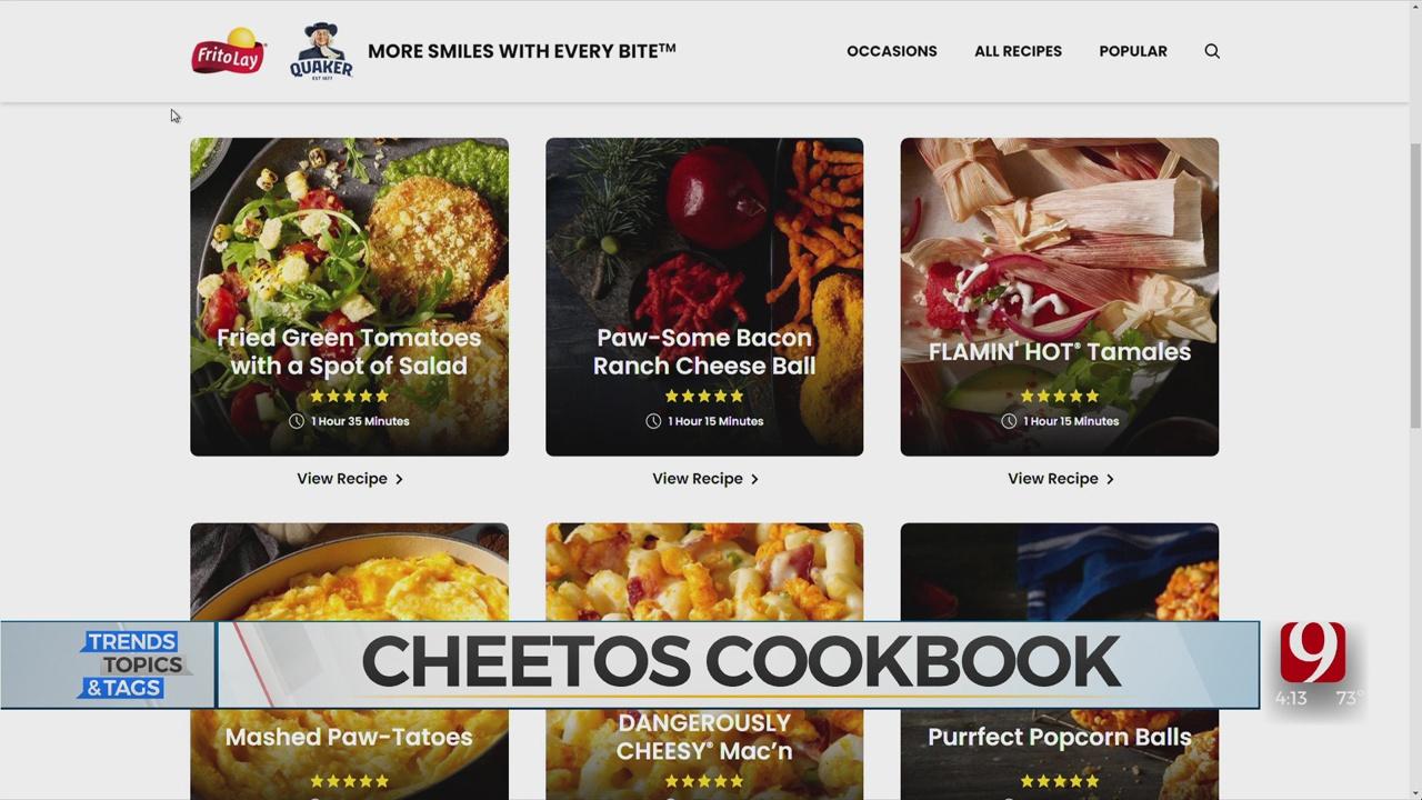 Trends, Topics & Tags: Cheetos Cookbook