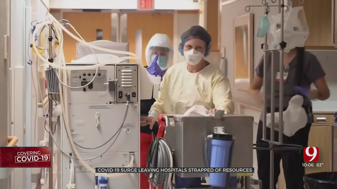 'We Kind Of Went Into Panic Mode': Oklahoma Hospitals Manage Limited Ventilators, Beds