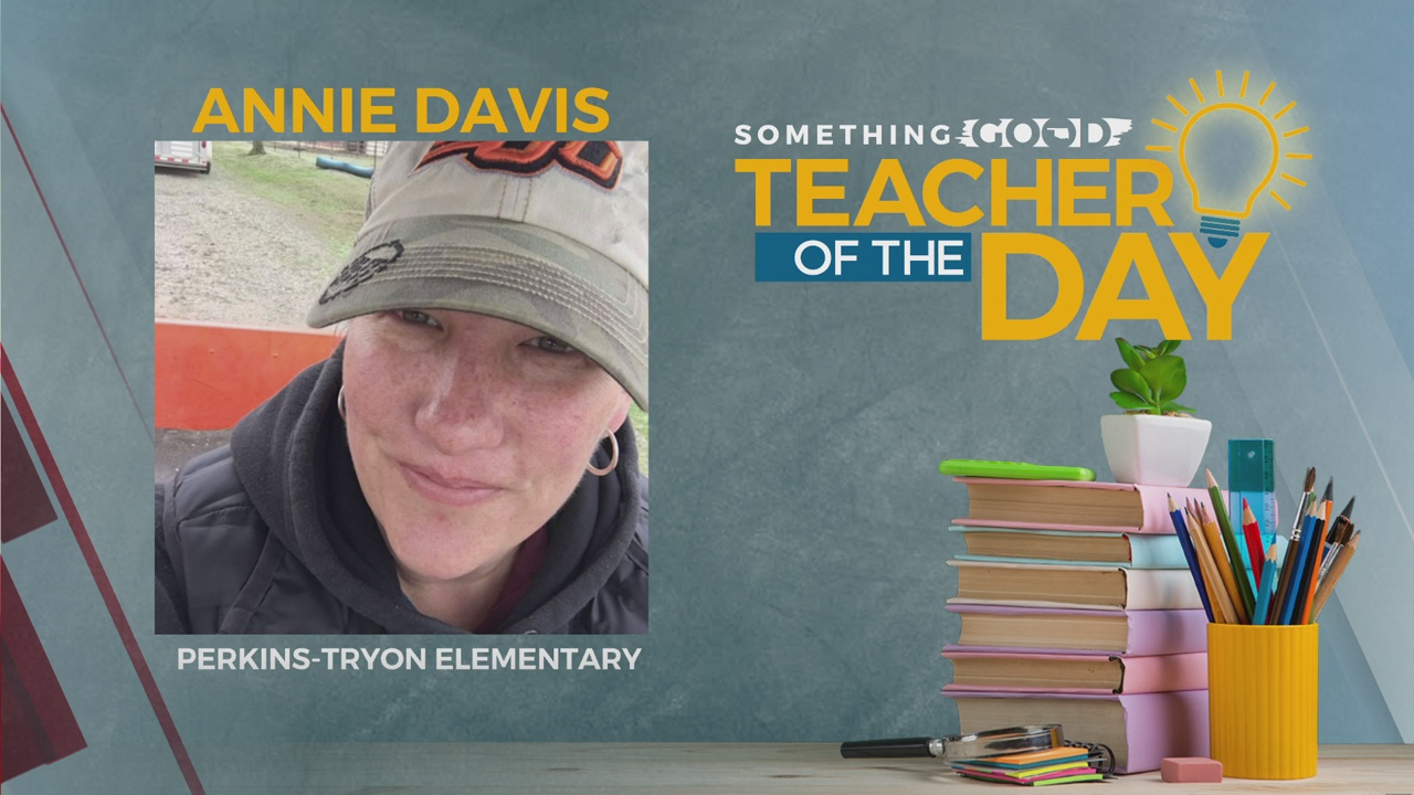 Teacher Of the Day: Annie Davis