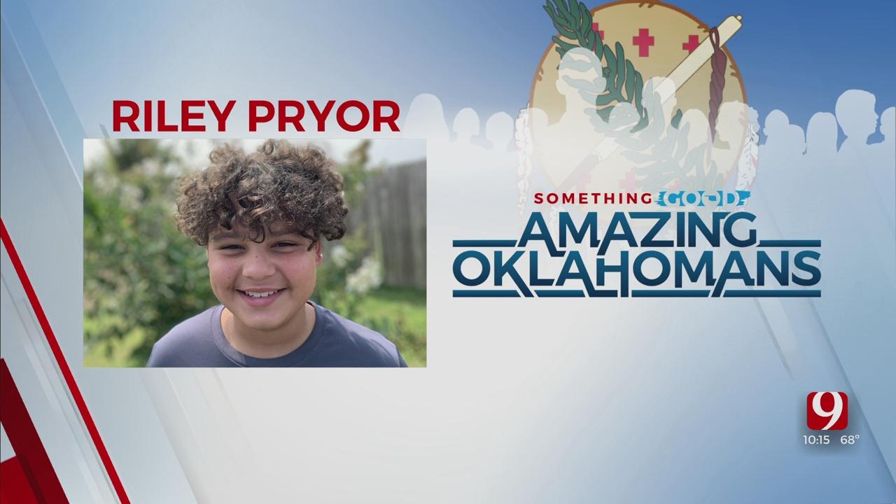 Amazing Oklahoman: Riley Pryor