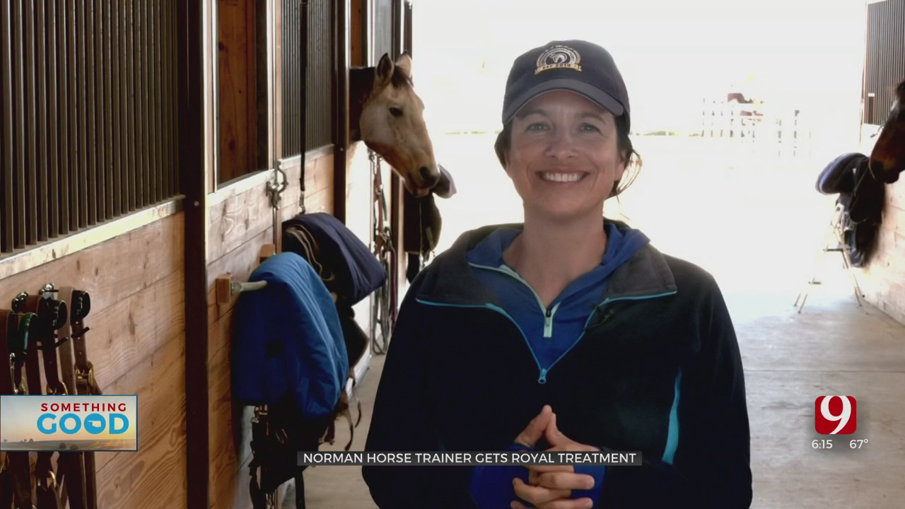 Something Good: Norman Horse Trainer Gets On Royalty's Radar