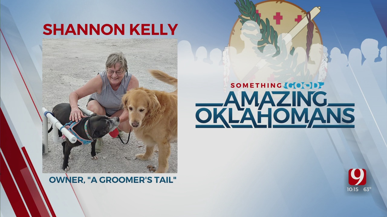 Amazing Oklahoman: Shannon Kelly Helps Animals Find Forever Homes