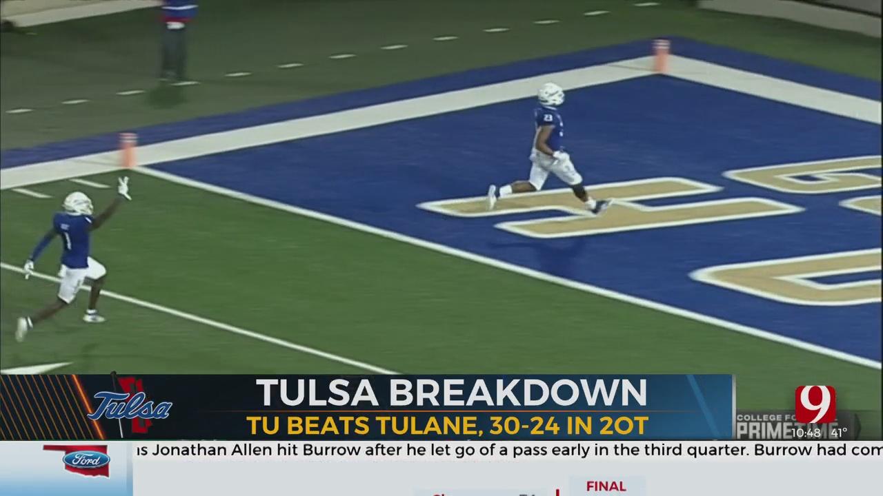 Tulsa Breakdown: Golden Hurricane Win in Double OT