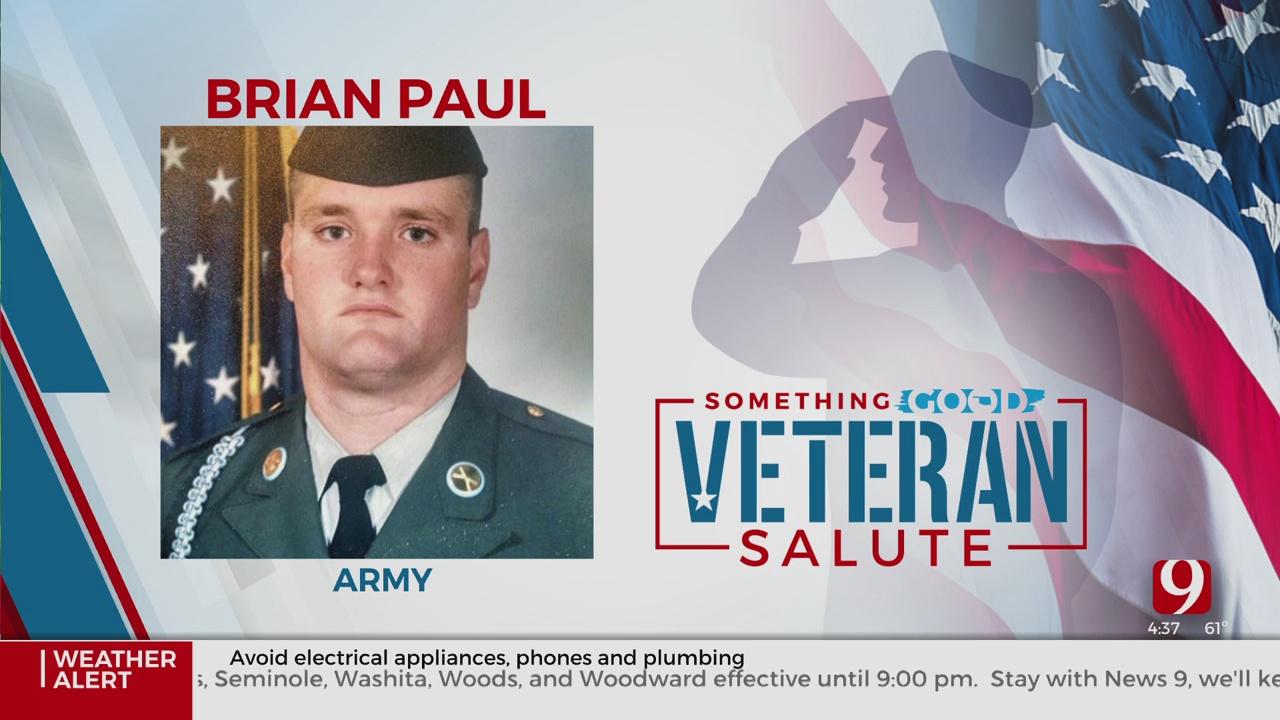 Veteran Salute: Brian Paul