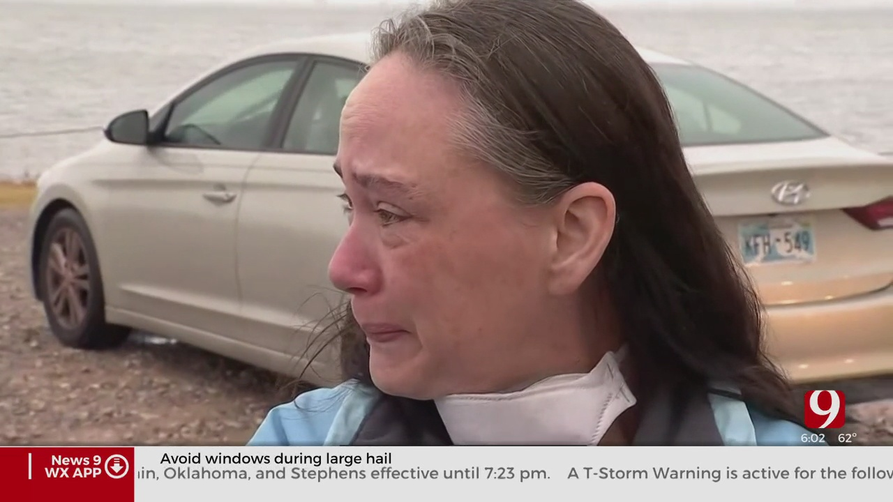 'I Just Don't Know What To Do': Mom Struggles As OKCFD Continues Search For Man At Lake Hefner