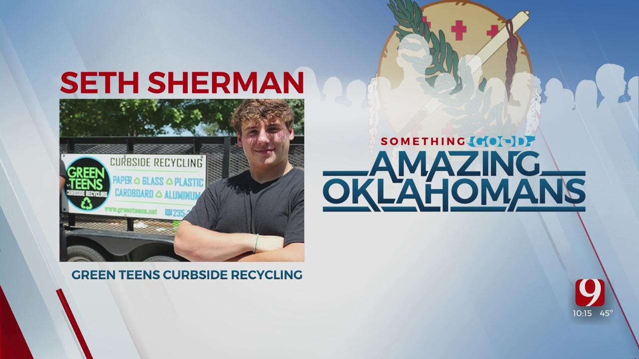 Amazing Oklahoman: Seth Sherman