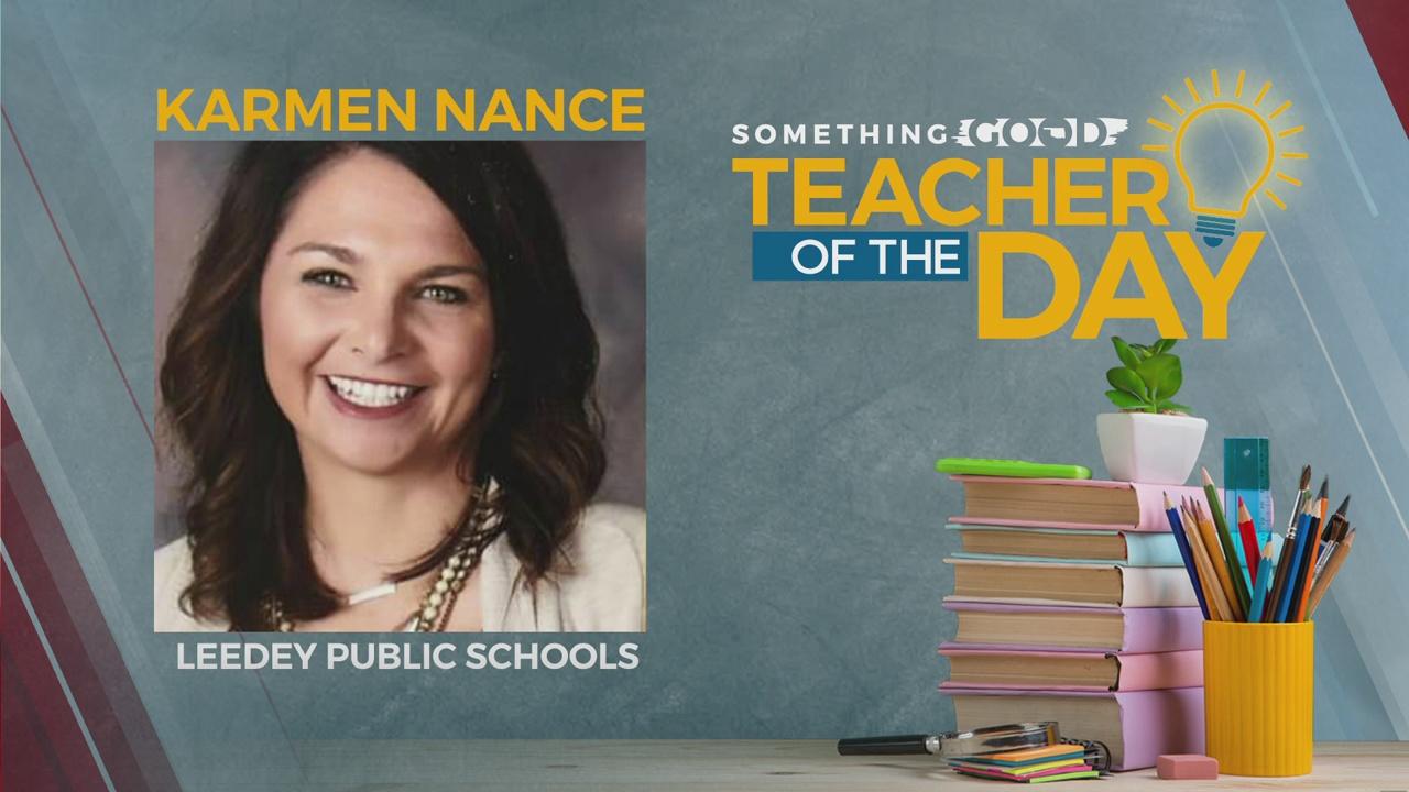 Teacher Of The Day: Karmen Nance