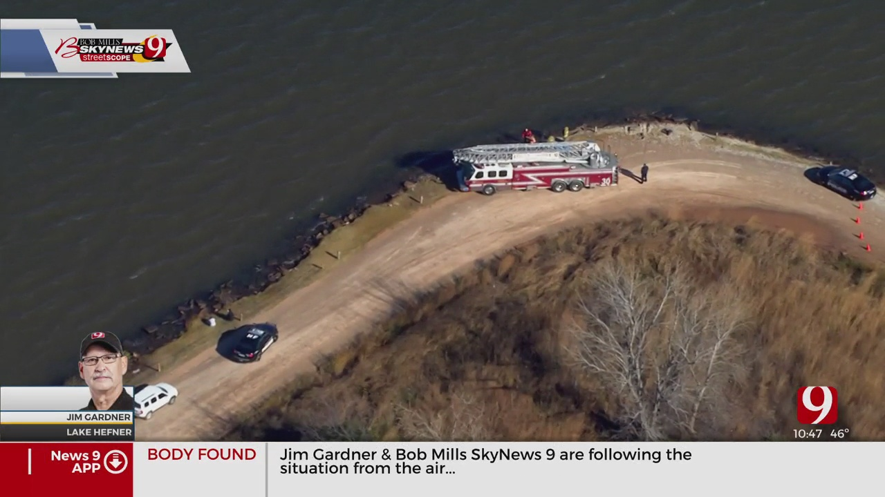 OKCFD Dive Team Locates Body Of Missing 19-Year-Old At Lake Hefner