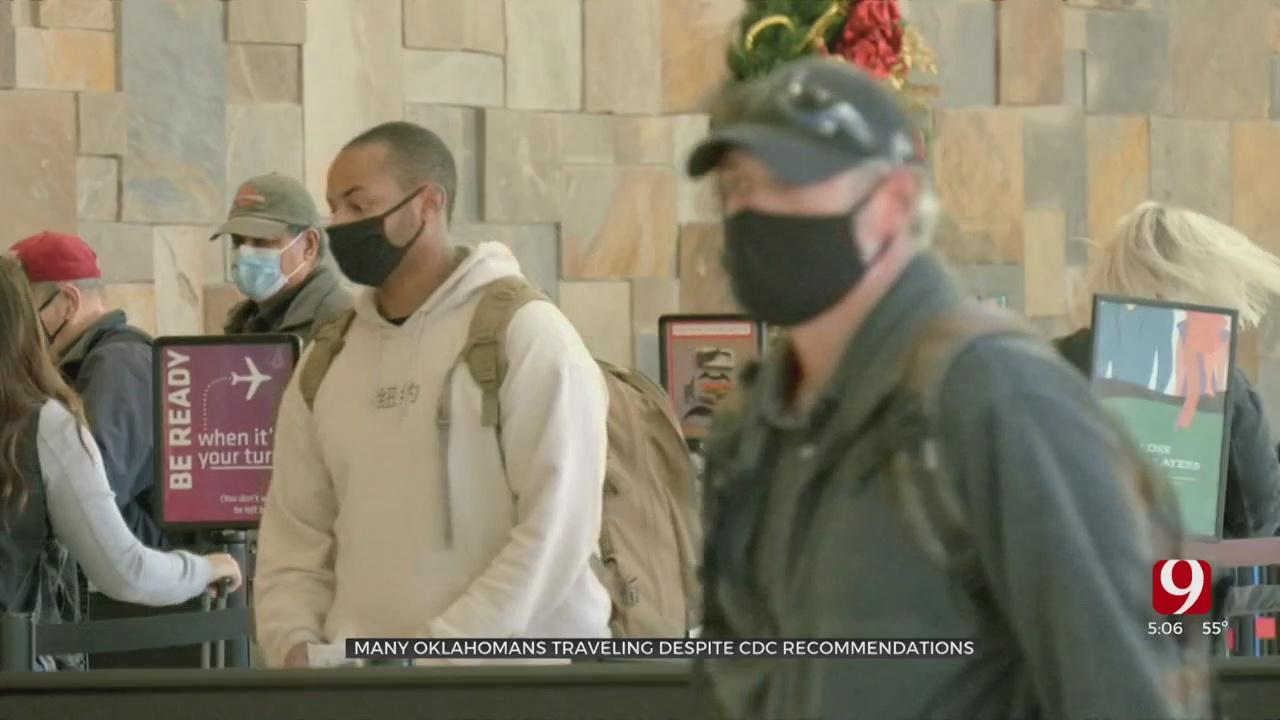 Oklahomans Travel Despite CDC Recommendations