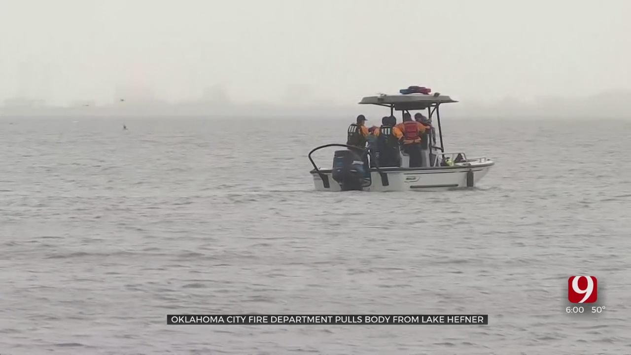 OKCFD Makes Heartbreaking Discovery, Recovers Body From Lake Hefner