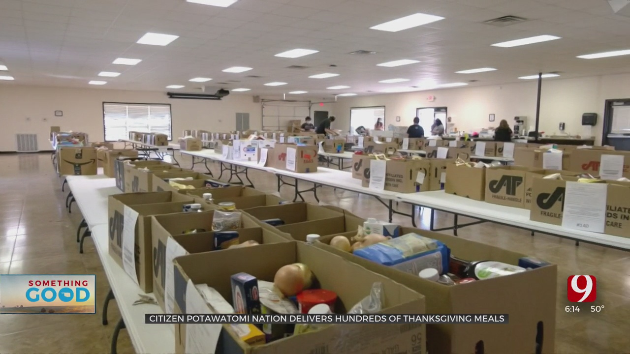 Something Good: Citizen Potawatomi Nation Feeds Record Numbers For Thanksgiving
