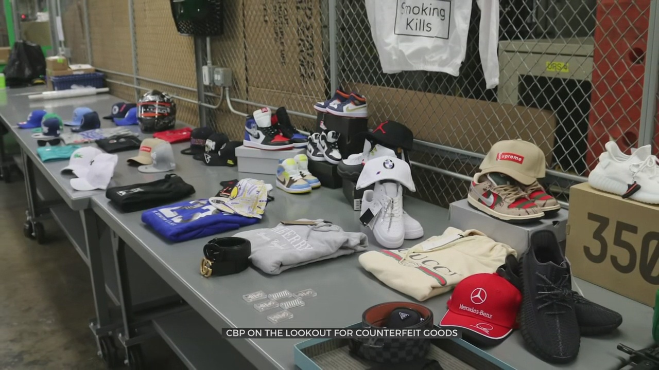Customs And Border Patrol On The Lookout For Counterfeit Items