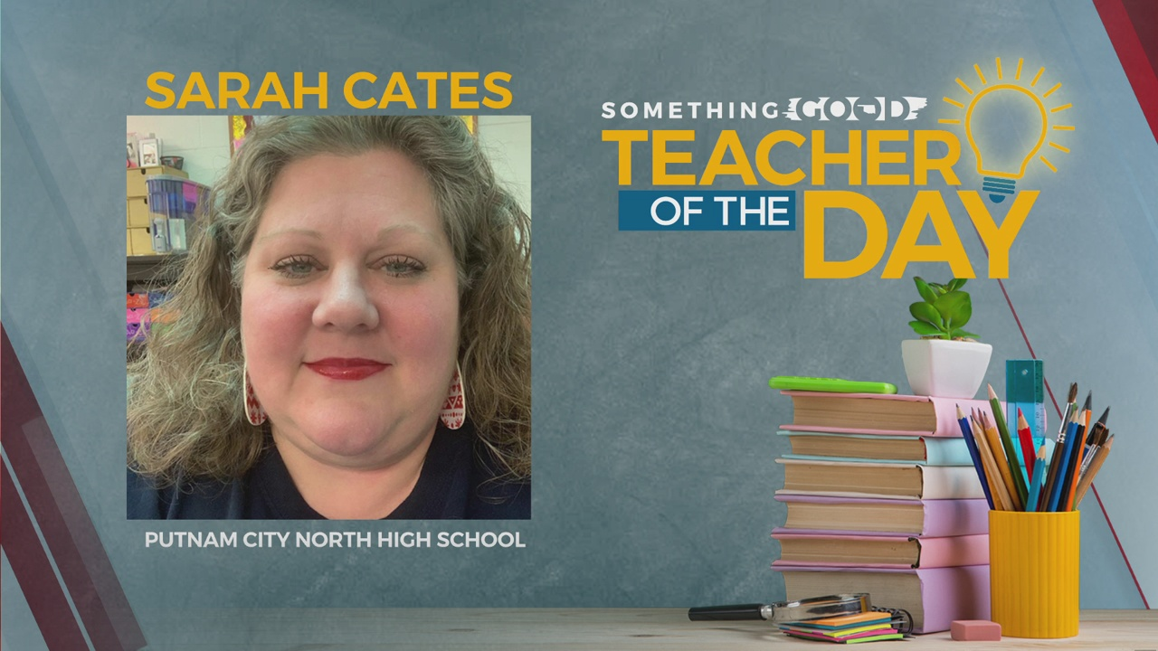 Teacher Of The Day: Sarah Cates