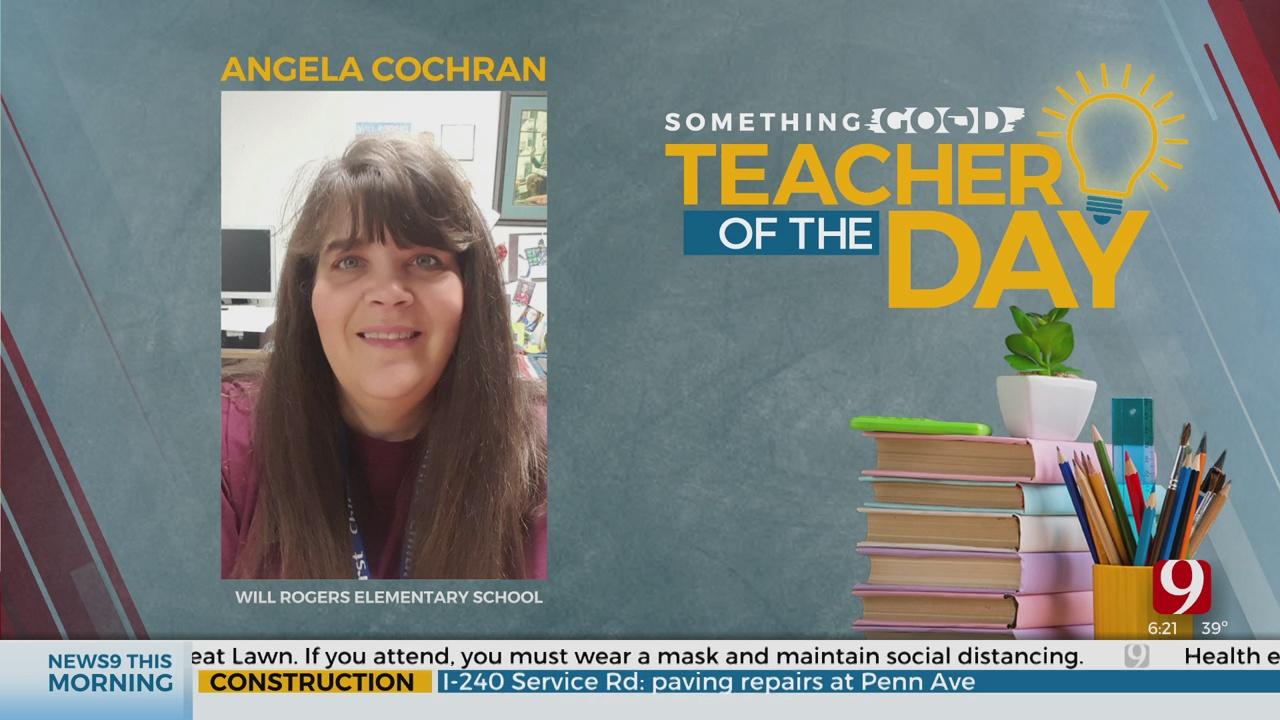 Teacher Of The Day: Angela Cochran