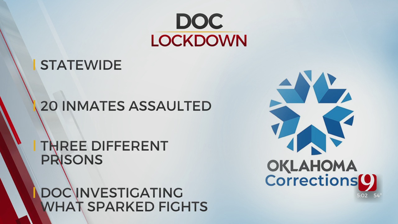 Prisons Locked Down After Several Inmates Were Assaulted Friday, ODOC Reports