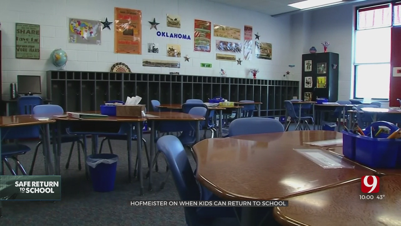 State Superintendent Hofmeister Weighs In On When Kids Can Return To In-Person Learning