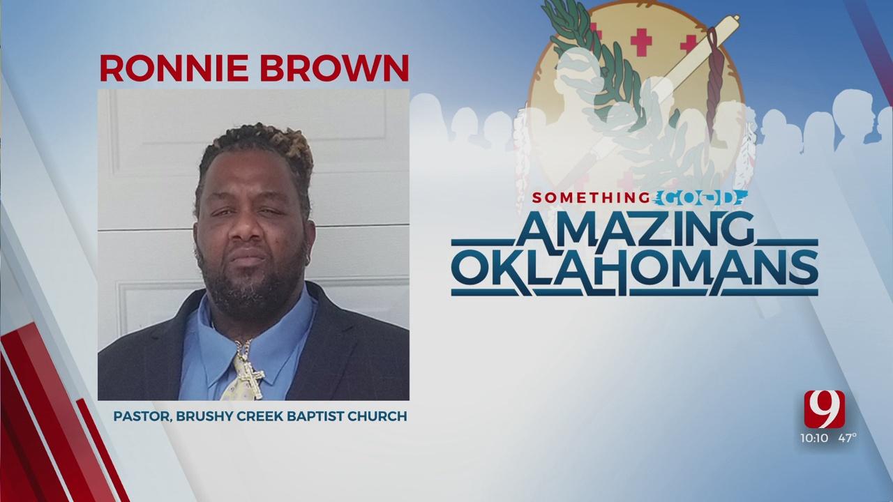 Amazing Oklahoman: Ronnie Brown