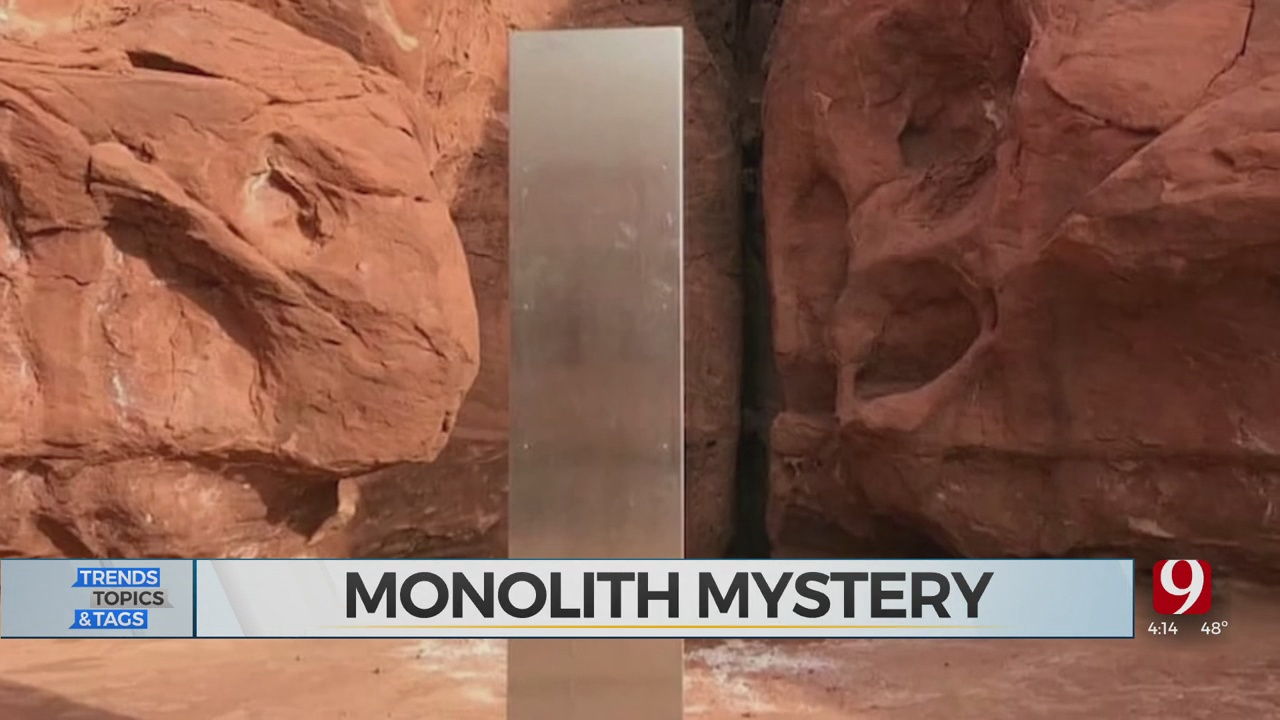 Trends, Topics & Tags: Monolith Mystery