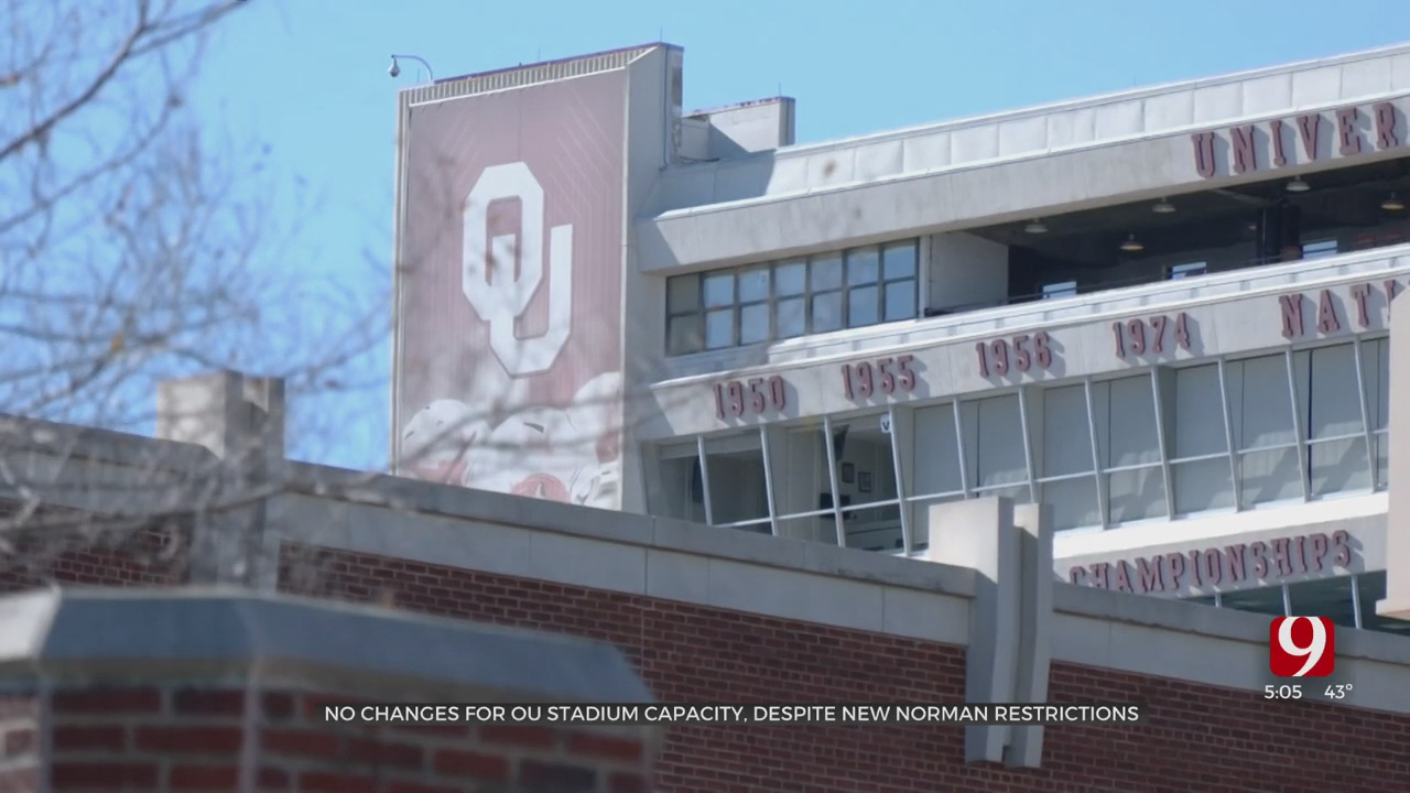 Norman Mayor's New COVID-19 Restrictions Will Not Impact Last OU Home Football Game