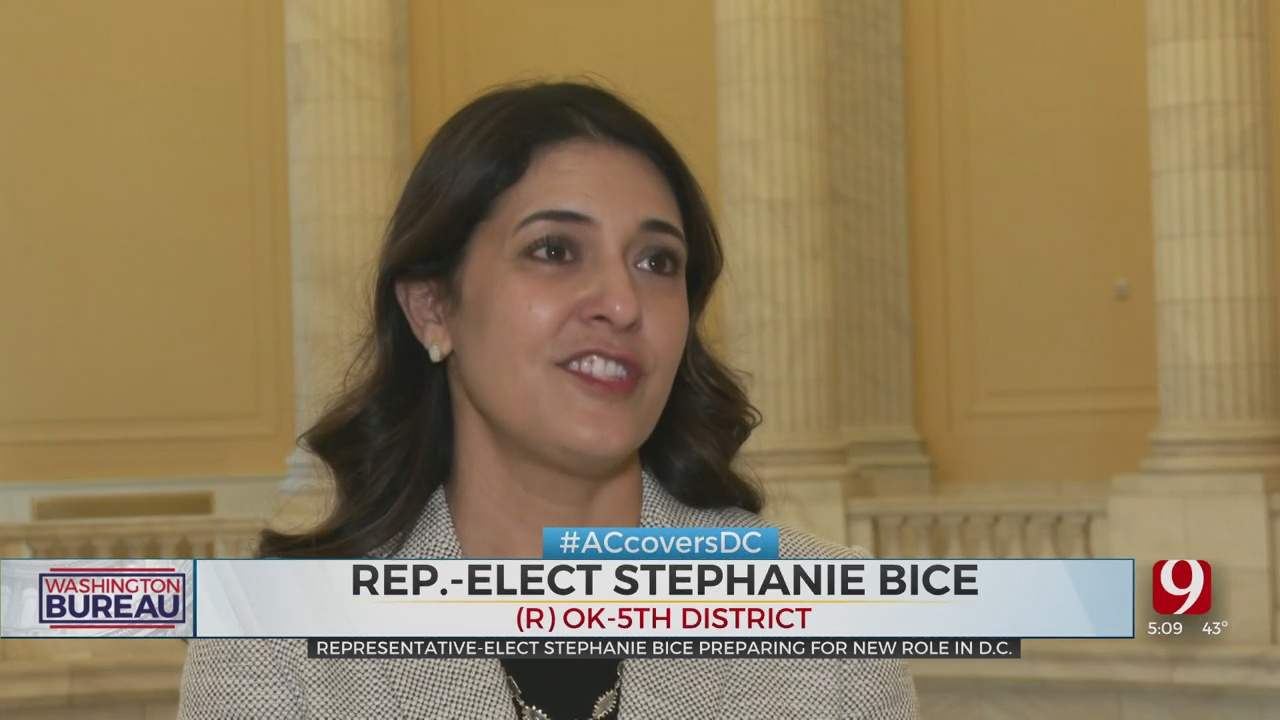 Representative-Elect Stephanie Bice Prepares For New Role In DC