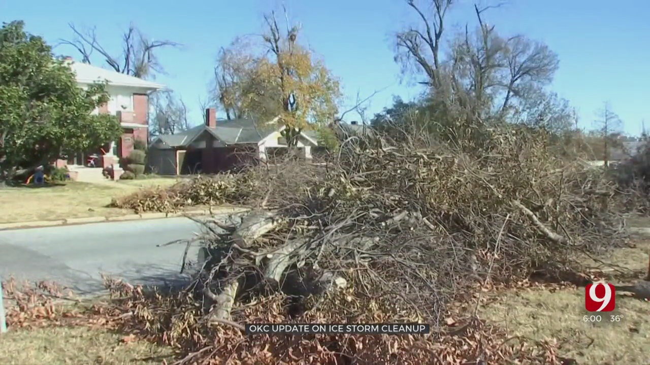 October Ice Storm Cleanup Taking Longer Than Expected