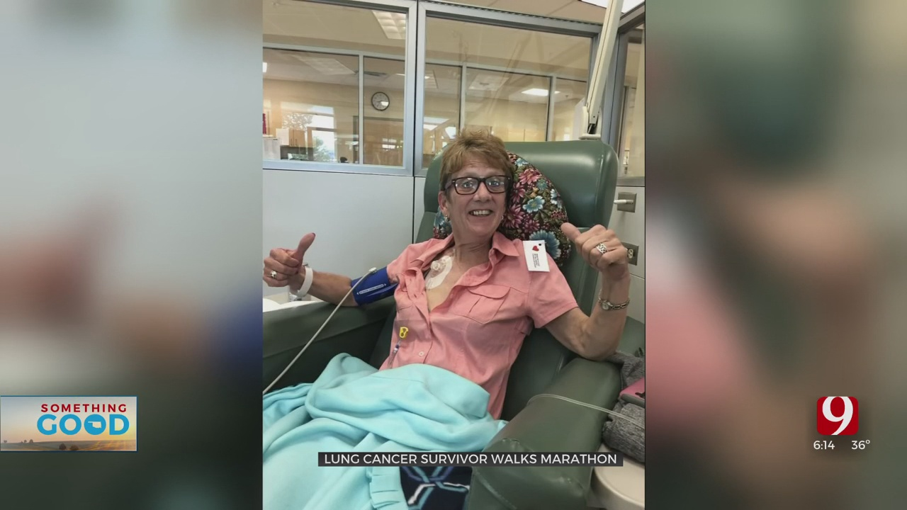 Oklahoma Woman Goes The Distance Against Cancer