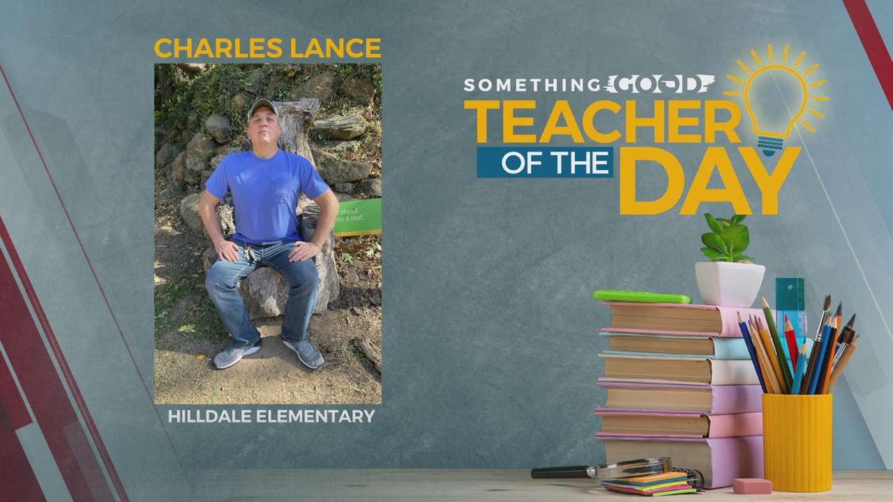 Teacher Of The Day: Charles Lance