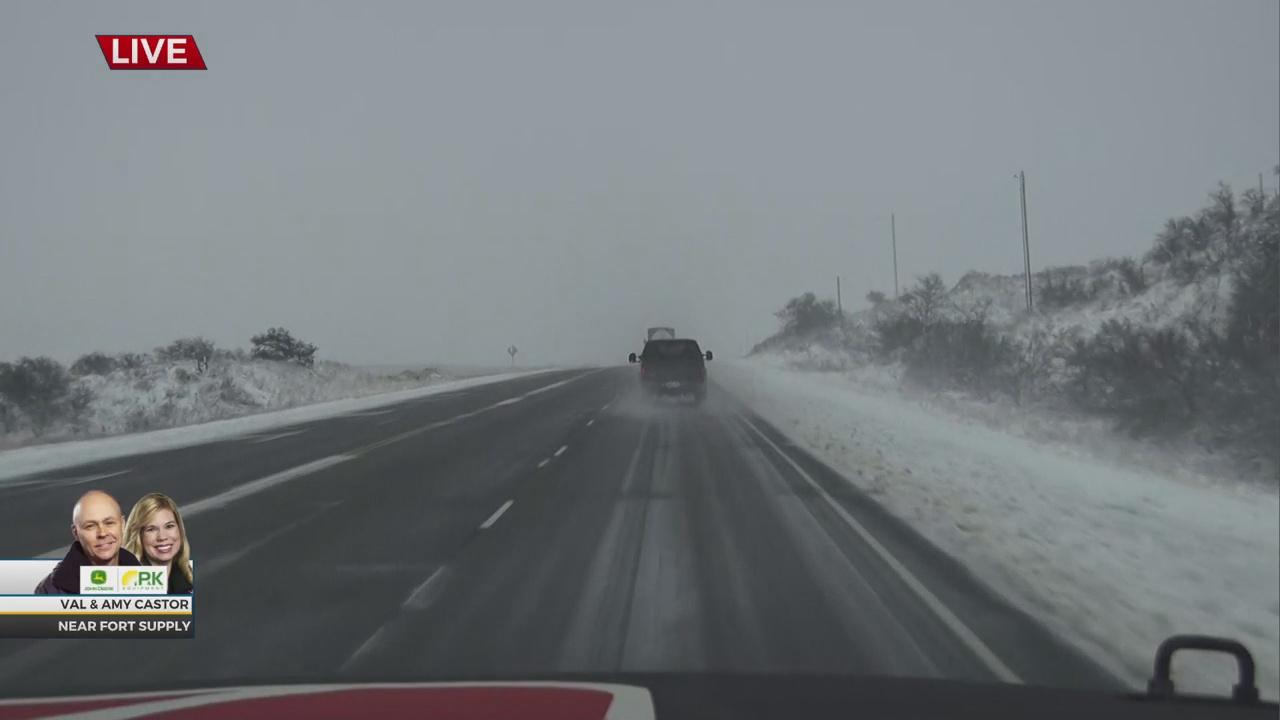 WATCH: News 9 Winter Weather Storm Update (12:55 p.m.)